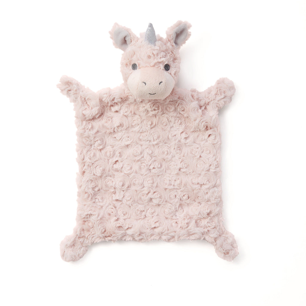 Pink Unicorn Security Blanket - Project Nursery