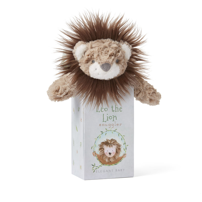 Lion Snuggler Security Blanket w/ Gift Box - Project Nursery