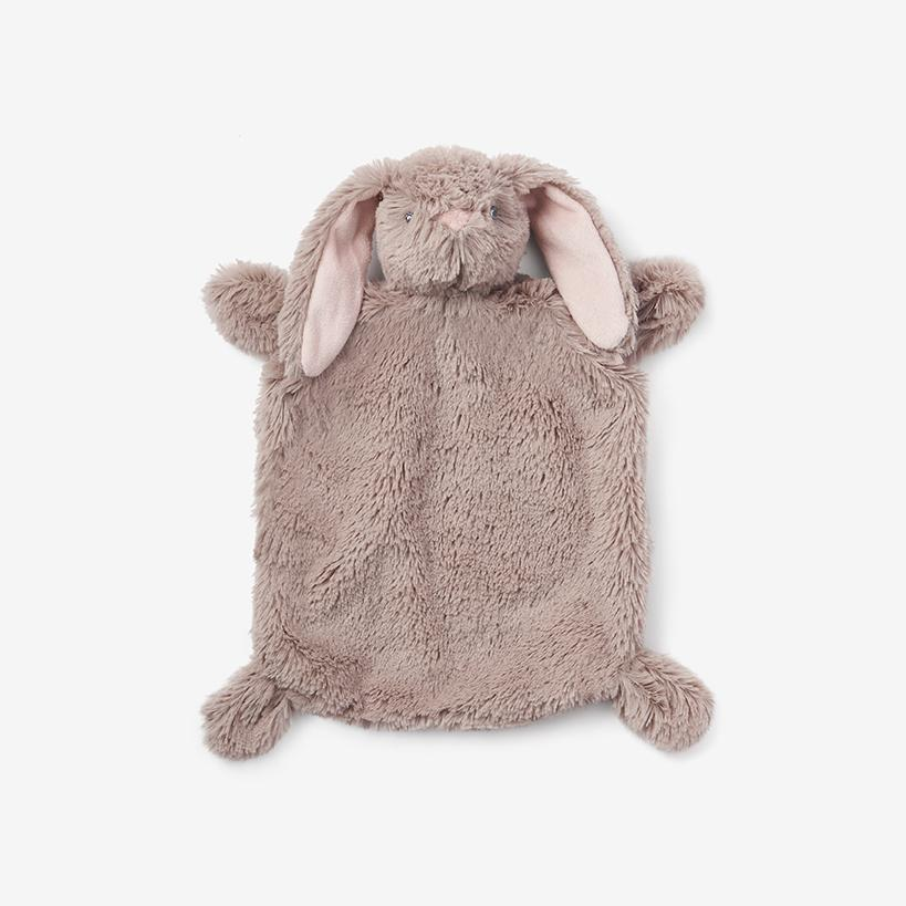 Bunny Flat Baby Security Blanket - Project Nursery