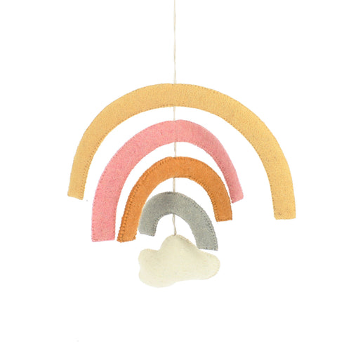 Pastel Rainbow Mobile - Project Nursery