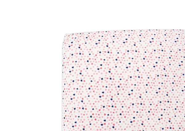 In Bloom Oval Fitted Crib Sheet - Project Nursery
