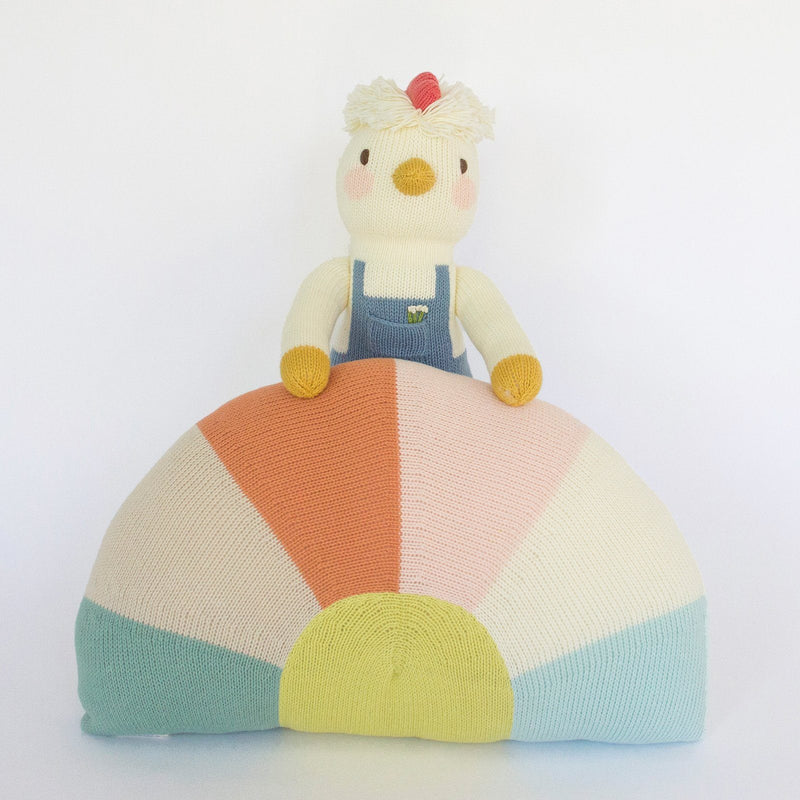 Sunrise Pillow - Project Nursery