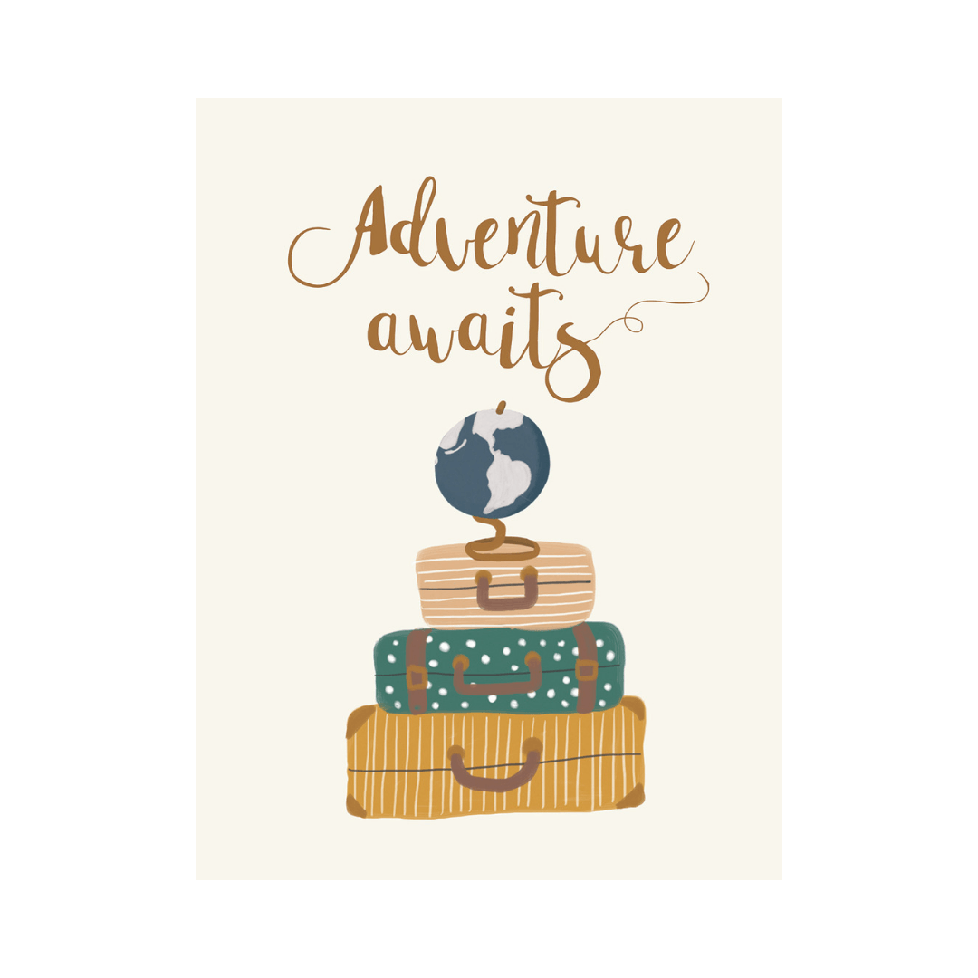 Adventure Awaits Art Print - Project Nursery