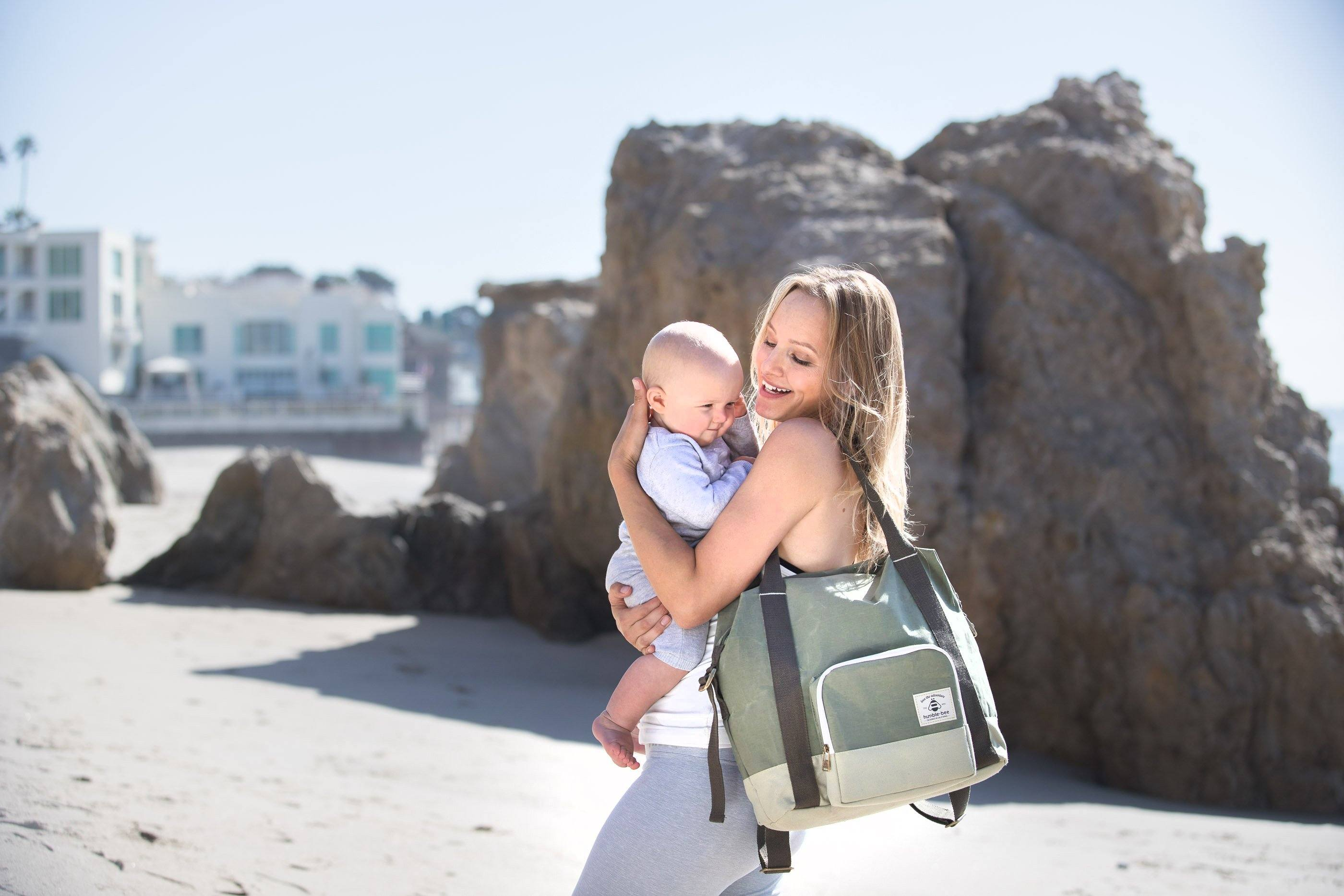 All Heart Diaper Bag - Olive - Project Nursery