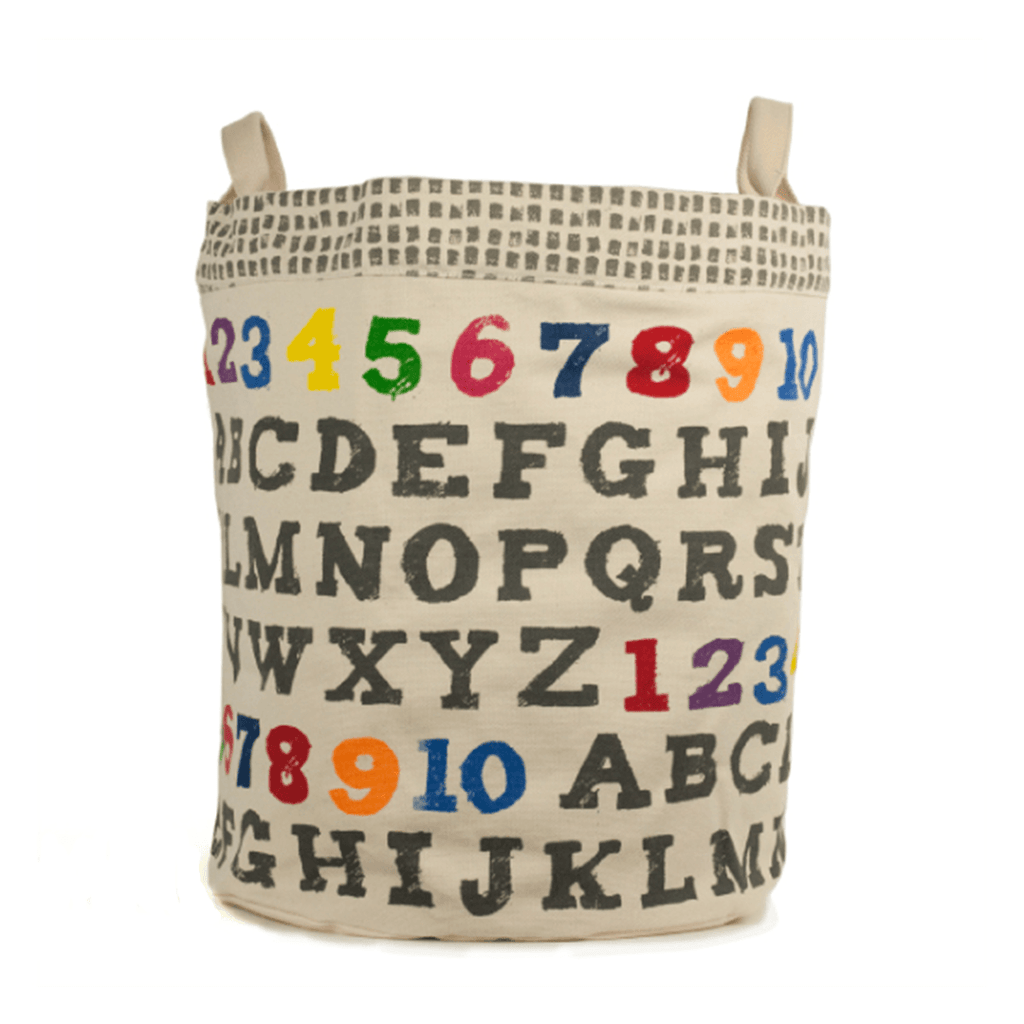 A to Z Large Tote & Bin  - The Project Nursery Shop