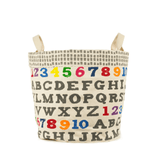 A to Z Small Tote & Bin  - The Project Nursery Shop - 1