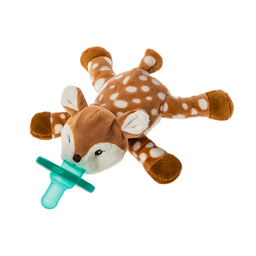 Amber Fawn Wubbanub Pacifier - Project Nursery