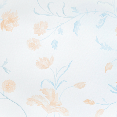 Dahlia Wallpaper Mural - Project Nursery