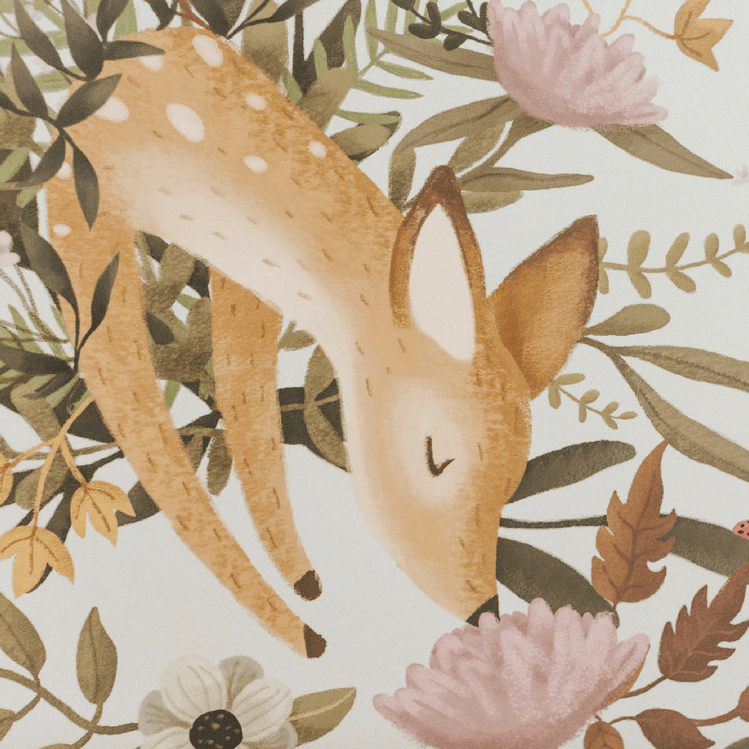 OH Deer Mural - Project Nursery