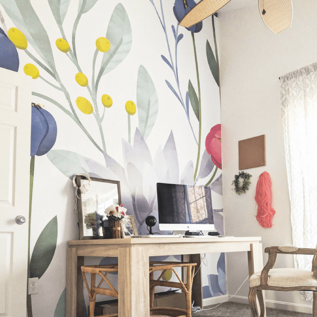 Succulent Wallpaper Mural - Project Nursery