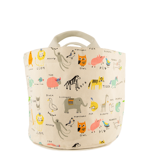 Alpha Critters Small Tote & Bin - Project Nursery