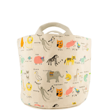 Alpha Critters Small Tote & Bin  - The Project Nursery Shop - 1