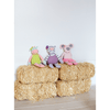 Organic Plush Penny the Piggy  - The Project Nursery Shop - 4