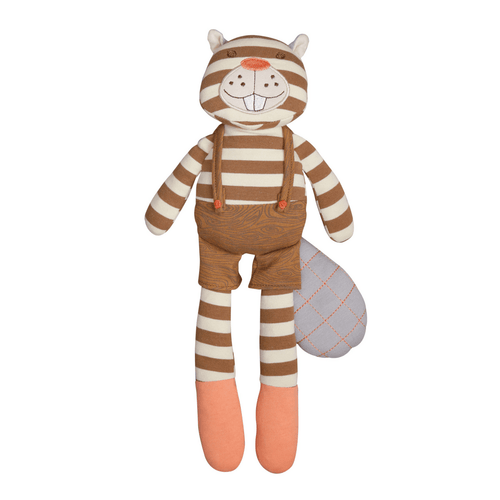 Organic Plush Buster Beaver - Project Nursery