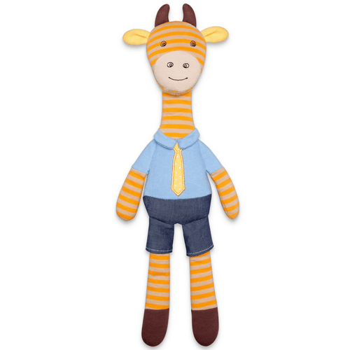 Organic Plush George Giraffe - Project Nursery