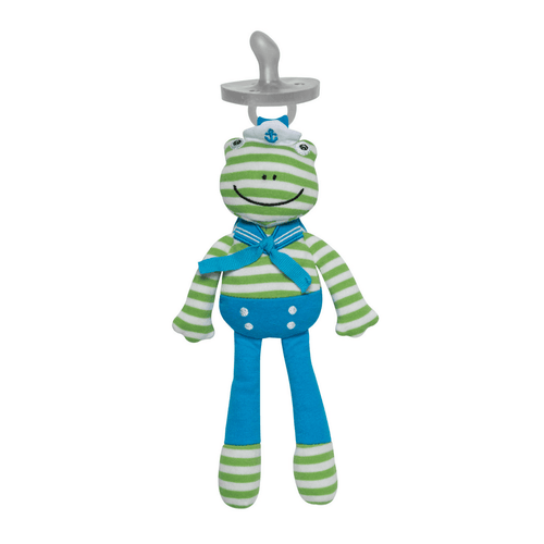 Skippy the Frog Pacifier Buddy - Project Nursery