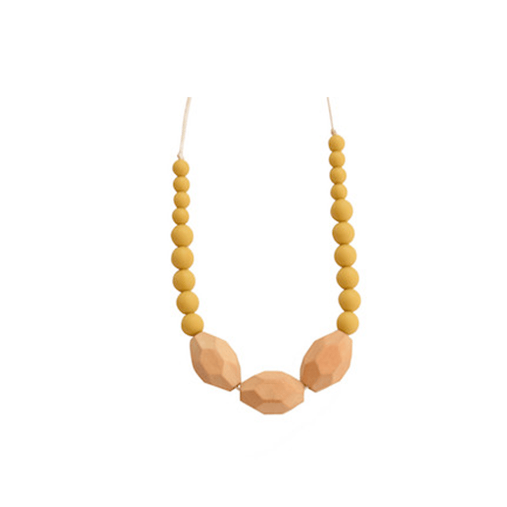 The Austin Necklace Mustard - The Project Nursery Shop - 5