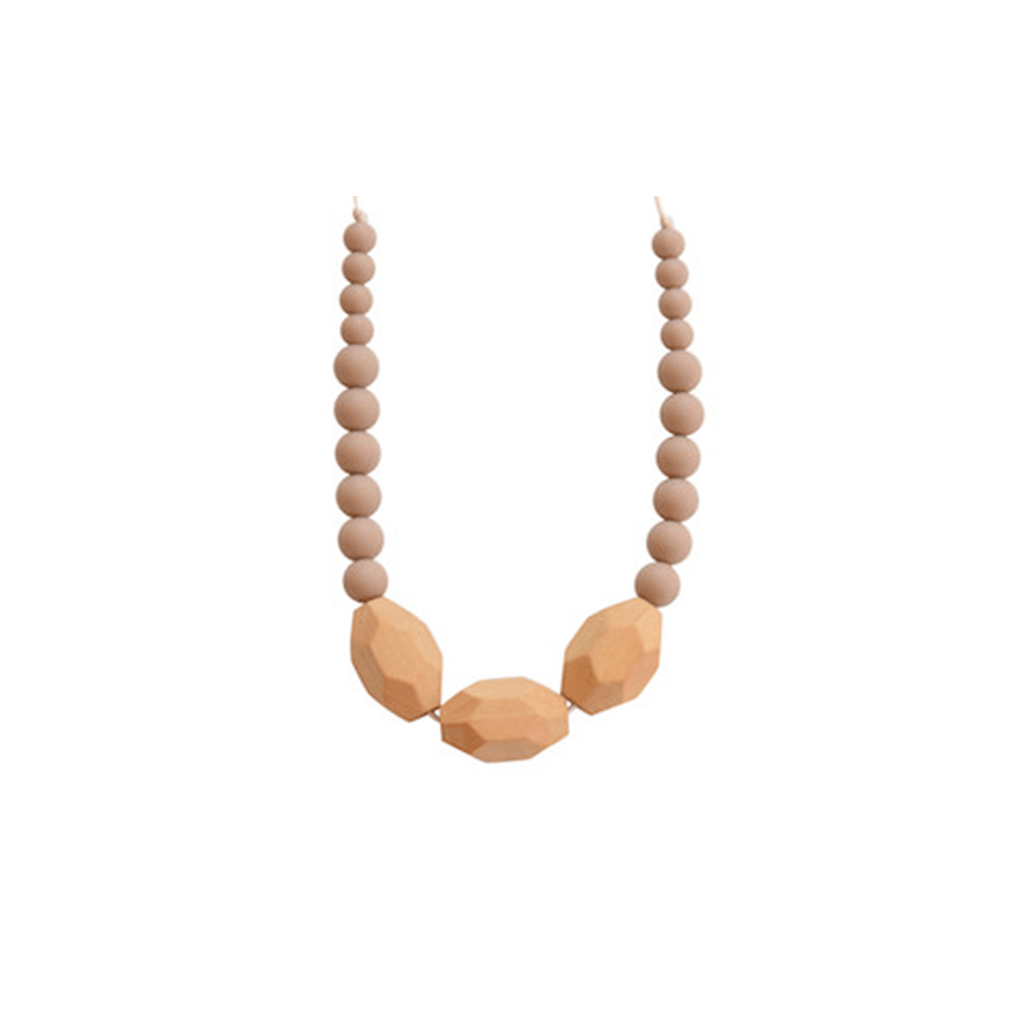 The Austin Necklace Taupe - The Project Nursery Shop - 2