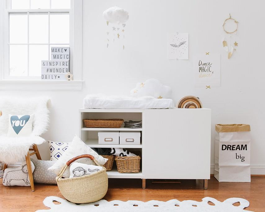 LUXE Cascading Heart + Star Cloud Mobile  - The Project Nursery Shop - 2