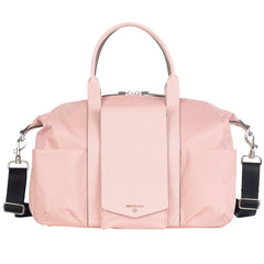 Peek-a-Boo Satchel Diaper Bag - Pink - Project Nursery