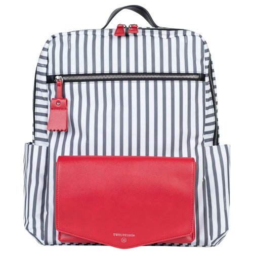 Peek-a-Boo Backpack - Stripe - Project Nursery