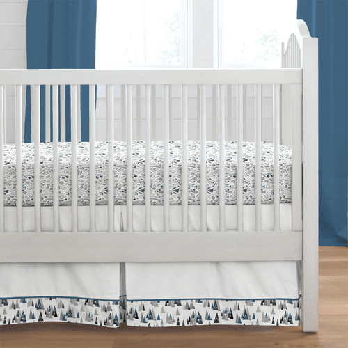 Blue Mountains Crib Skirt - Project Nursery