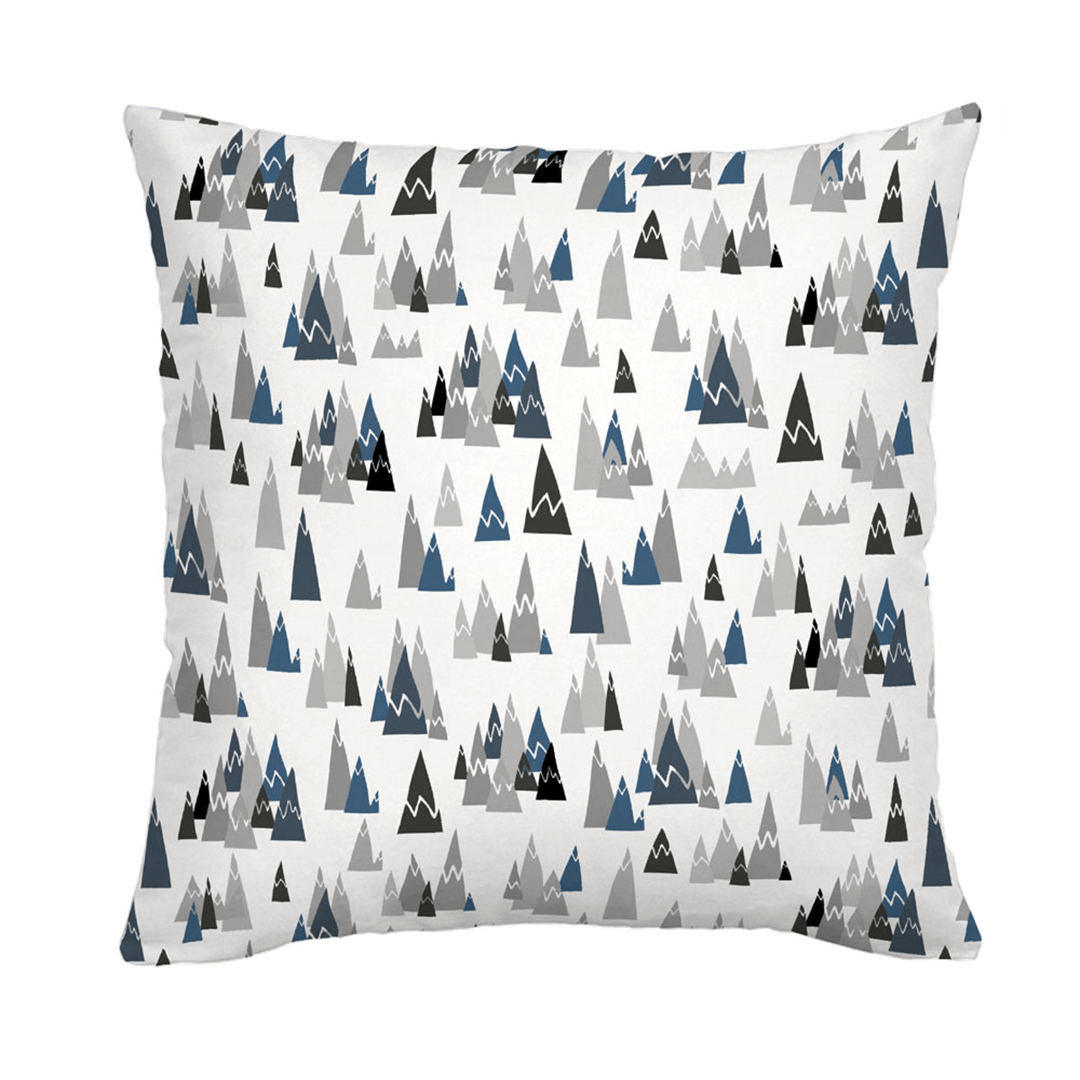 Blue Mountains Throw Pillow - 18""