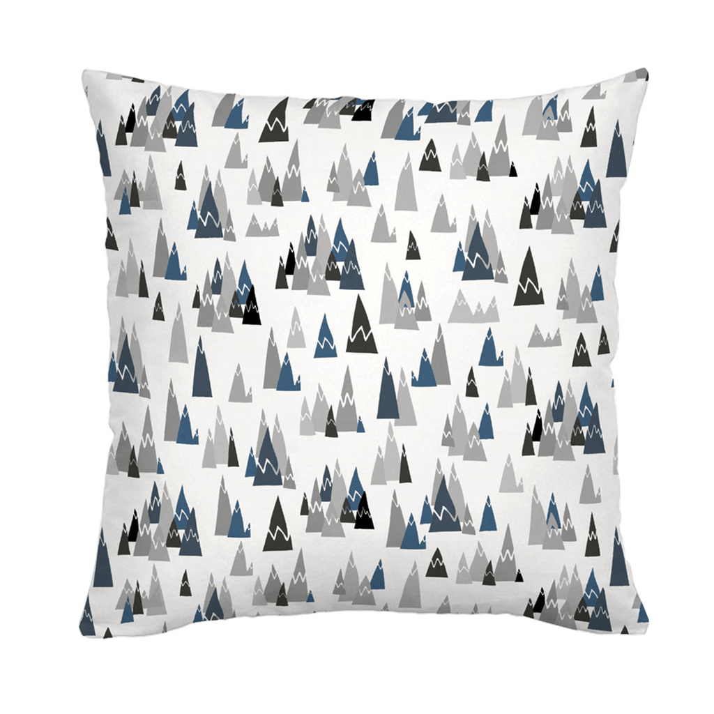 Blue Mountains Throw Pillow - Project Nursery