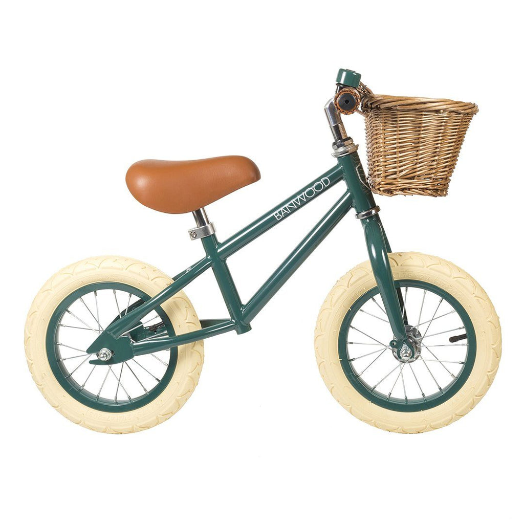 Banwood First Go Balance Bike - Dark Green - Project Nursery