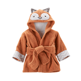'Rub-a-Dub, Fox in the Tub' Hooded Spa Robe
