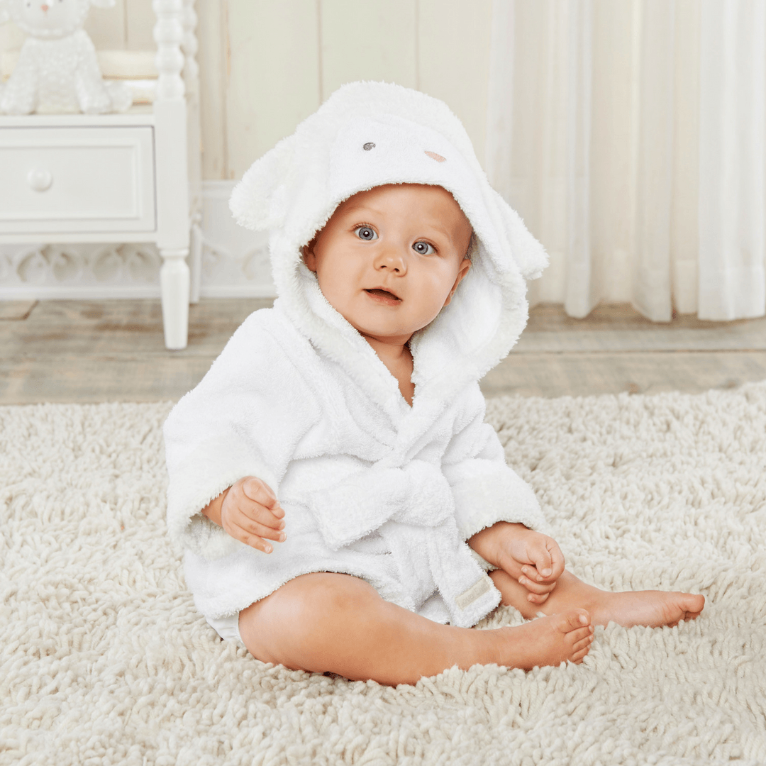 Love You Lamb Hooded Spa Robe - Project Nursery