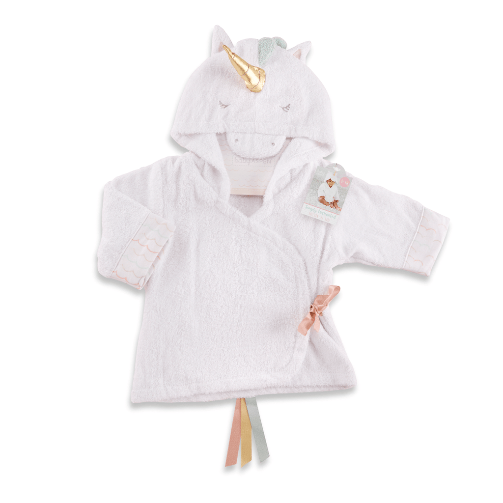 Simply Enchanted Unicorn Hooded Spa Robe