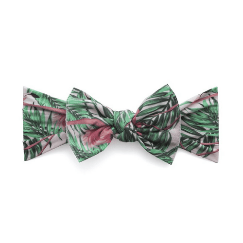 Tropical Flamingo Printed Knot Headband - Project Nursery