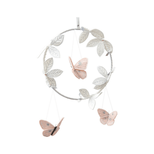 Luxe Butterfly Mobile in Blush - Project Nursery