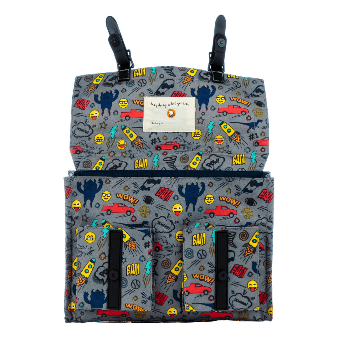 Stamps Kid Backpack - Project Nursery