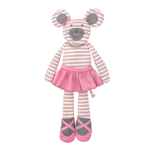Organic Plush Ballerina Mouse - Project Nursery