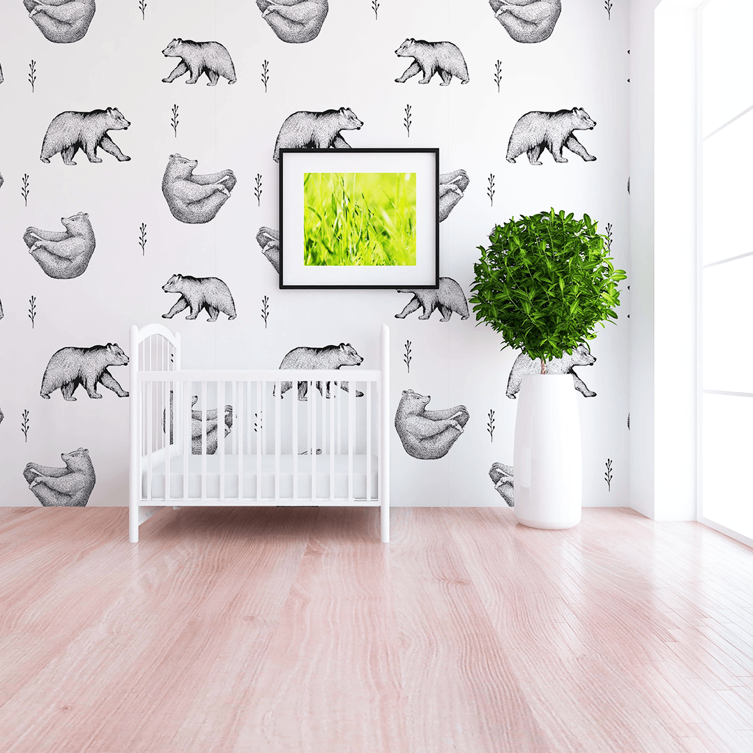 Barret Wallpaper - Project Nursery