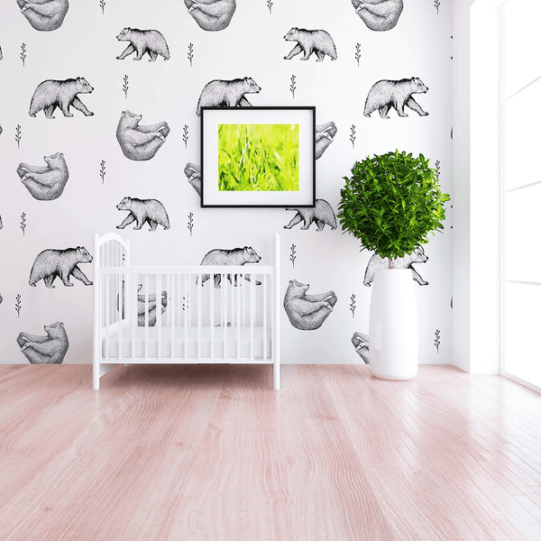 Baby Room Wall Décor Ideas Tips For Careful Parents: Barret Wallpaper