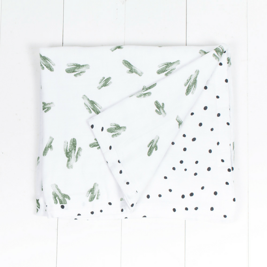 Saguaro + Dottie Luxury Muslin Toddler Snuggle Blanket