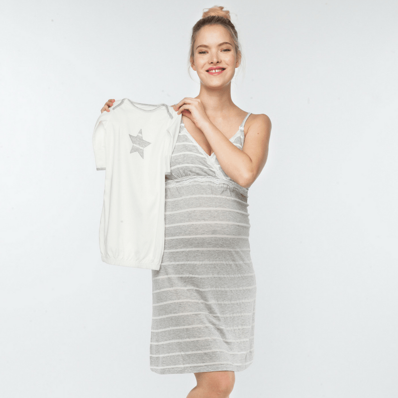 Heather Maternity + Nursing Chemise - Project Nursery