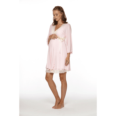 Lotus Maternity +  Nursing Robe - Project Nursery