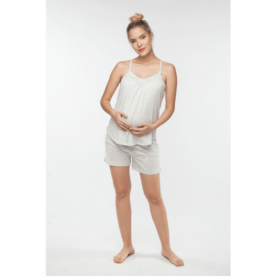 Maternity + Nursing Short PJ Set - Project Nursery