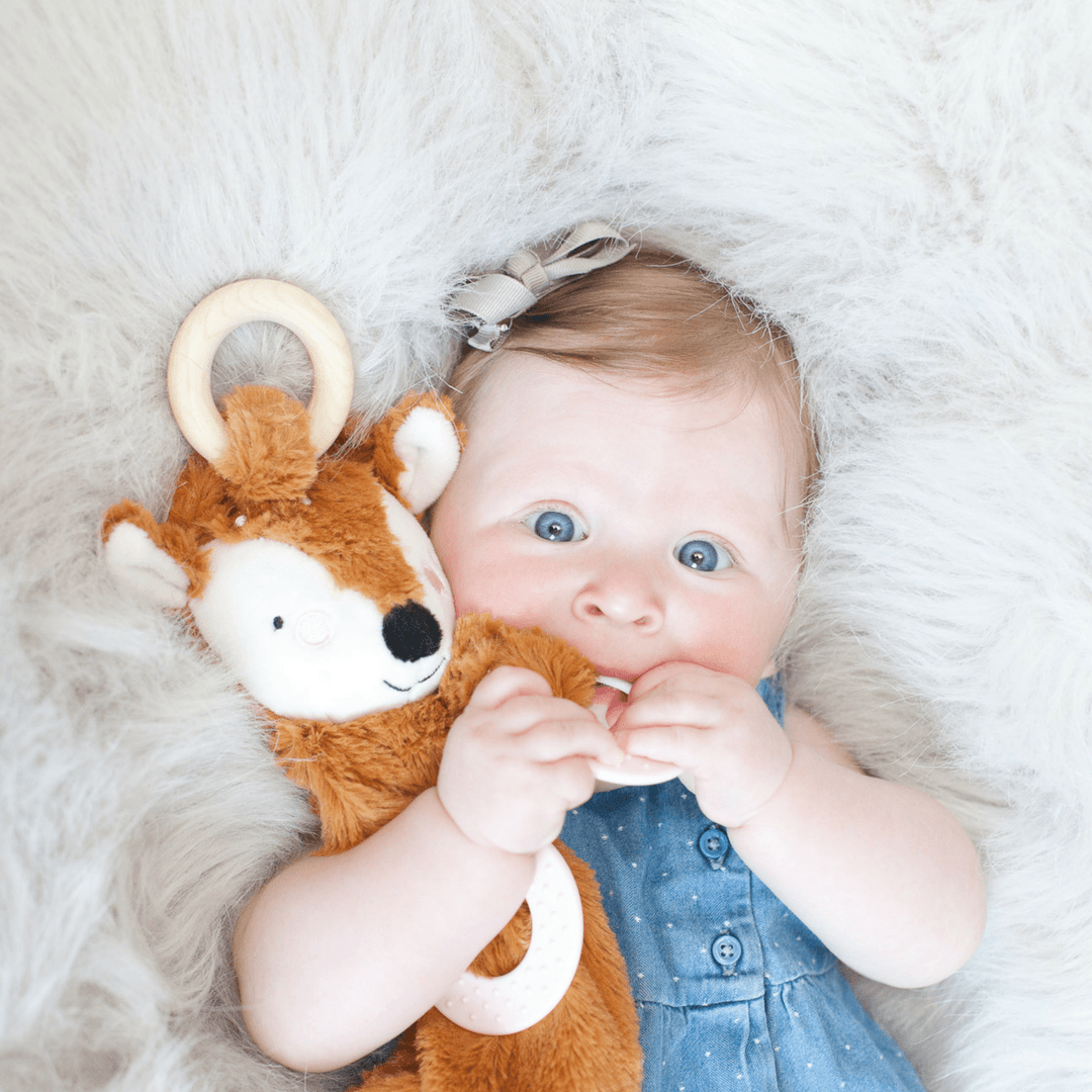 Happy Sidekick Teething Lovey - Daphne the Doe - Project Nursery