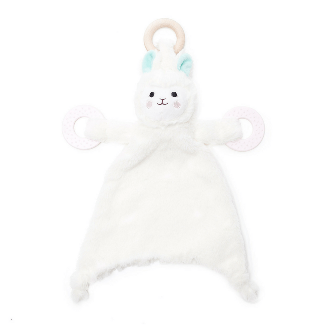 Happy Sidekick Teethin Lovey - Loretta the Llama - Project Nursery