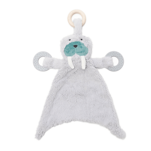 Happy Sidekick Teething Lovey - Winston the Walrus - Project Nursery