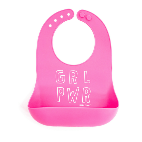 Wonder Bib - Girl Power - Project Nursery