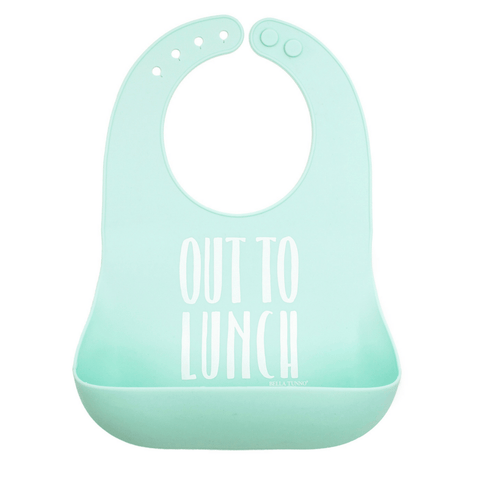 Dusty Rose Silicone Baby Bib