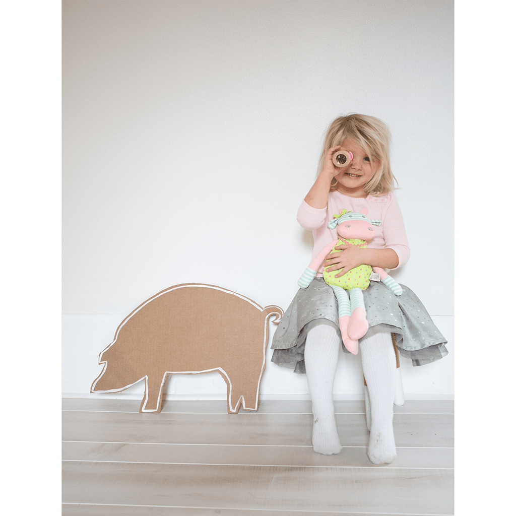 Organic Plush Belle the Cow  - The Project Nursery Shop - 3