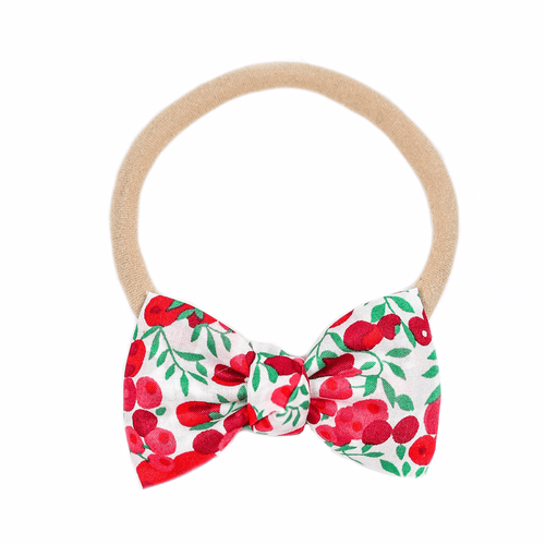 Berry Print Petite Headband - Project Nursery