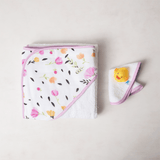 Hooded Towel Set - Berry & Bloom  - The Project Nursery Shop
